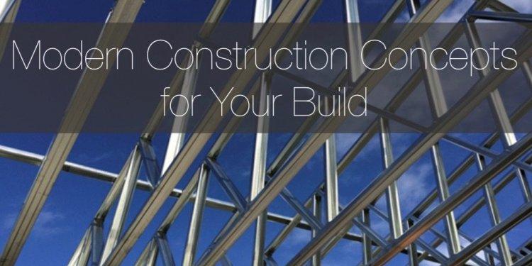 Modern Construction Methods