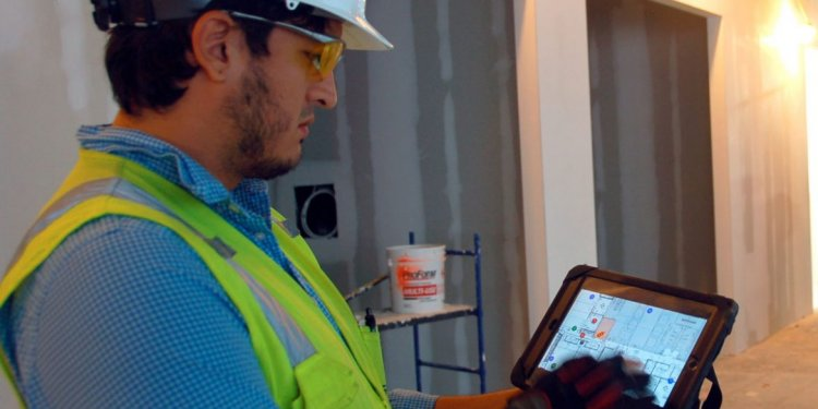 Indoor GPS on the Construction