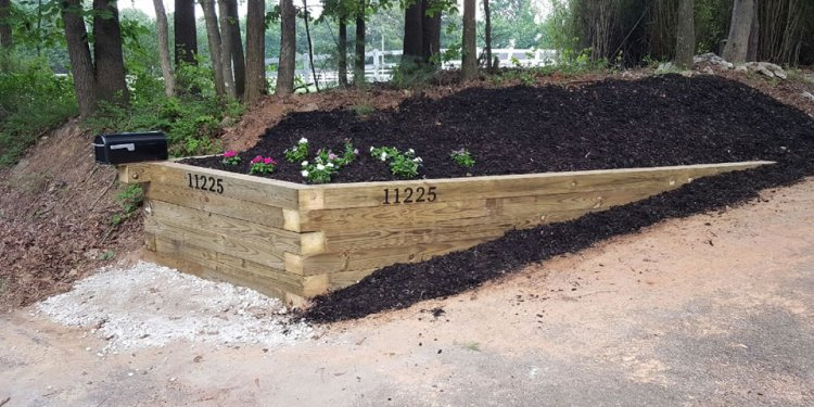 Landscaping, Fencing
