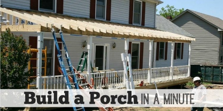 Porch Construction Ideas
