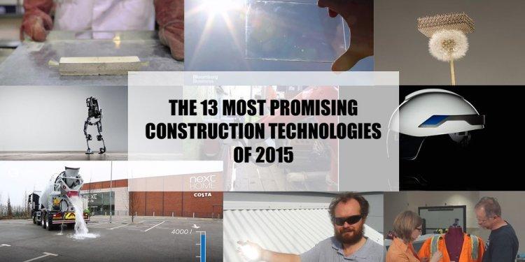 Best construction technologies