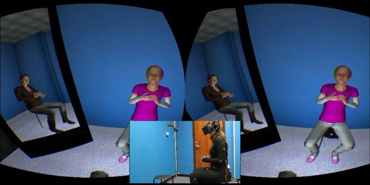 Virtual reality depression