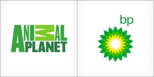 Animal Planet logo, BP logo design, green logos