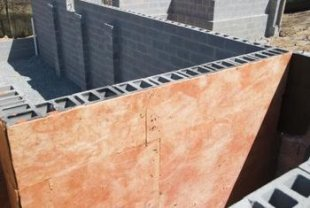 Concrete obstructs found in building construction tend to be lightweight as well as fireproof.