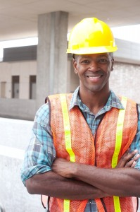 Construction employee