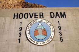 Hoover Dam register Boulder City, Nv  may 13, 2013