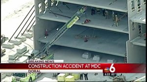 [MI] building crash at Parking Garage at Miami Dade College