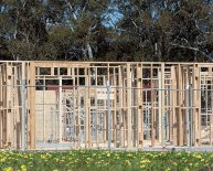 Construction process of building